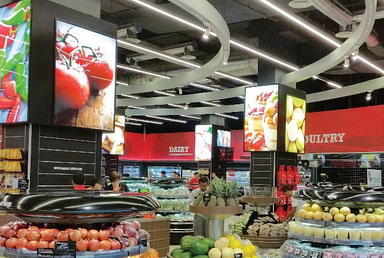 Lighting and LED Solutions for Hypermarkets