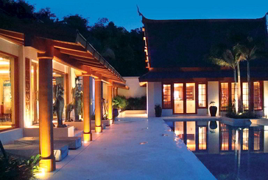 Lighting & Dimming Solutions for Private Residence