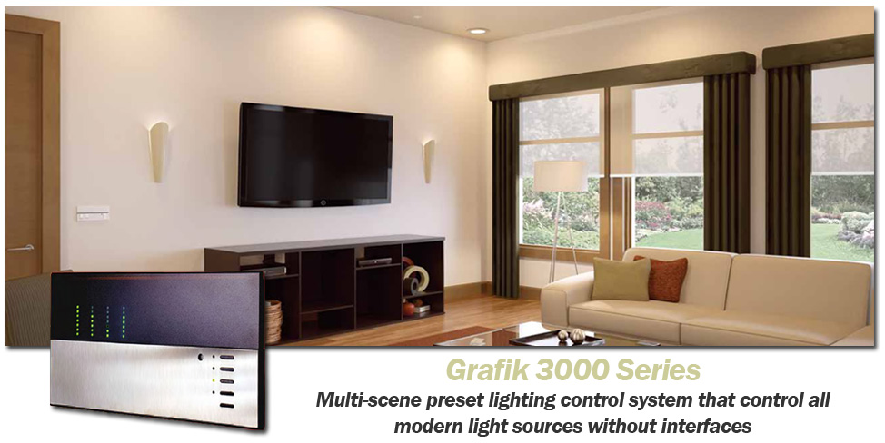 LUTRON Grafik 3000 Series