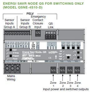 Energi Savr Node QS Switching/0-10 V Fixture Controller